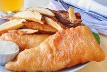 poisson, fruits de mer