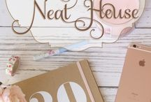 52 Weeks To a Neat House / A full year of home organization ideas. Join the fun, and our Facebook group any time of the year. There is a new assignment each week! Details on the blog neathousesweethome.com