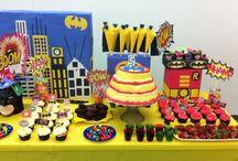 Festa Infantil Batman / Ideias de decoração para festa infantil Batman