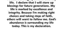 Preghiere e Proclamazioni