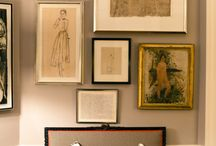 On the Wall / Hanging pictures and other accessories on the wall / by Dana Wolter
