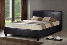 Leather & Fabric Beds