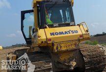 Komatsu - serwis elektroniki maszyn budowlanych / Maszyny budowlane Komatsu to kolejna marka w której przeprowadzamy diagnostykę i naprawiamy elektronikę.