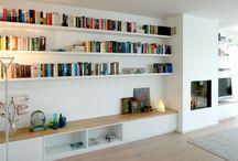 Dressoir boekenkast