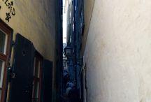SVERIGE / Narrow alley