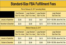New Amazon FBA Fees 2/22/2017 / Comparison of the new fulfilled by Amazon fees as of Feb. 22, 2017 compared to the previous fees.