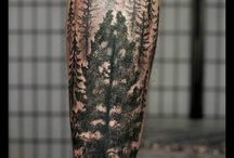 Tatuaże las