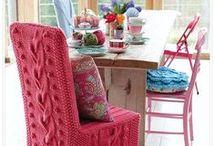 Cadeira tricô