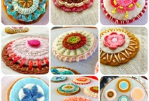 3d fabric cakes / by Louise Campbell
