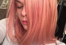 ROSE GOLD HAIR