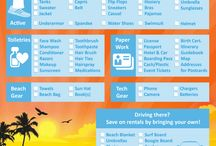 Sundance Vacations Checklist / Check out these great checklists created for anyone to print out and use when planning and packing for a trip!  / by Sundance Vacations