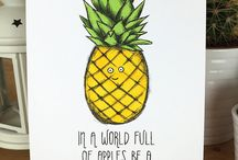 Pineapple prints and things
