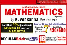 IAS / IFoS Mathematics Coaching in Delhi / by Ims New Delhi
