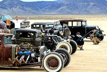 Rat Rods / I love em low, loud, ruff, and rusty / by Joe Shoemaker