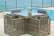 Garden Dining Sets / Posh Garden Furniture stocks a selected range of stunning Outdoor Rattan Garden Dining Sets Furniture with brand such as Skyline Designs to suite your requirements.