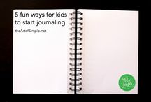journaling / by Jennifer Brown