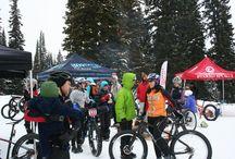 Grand Targhee Fat Bike Race & Demos / First fat snow bike race of the season! Next one is schedule for January 18, 2014