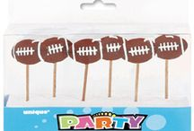 Sports themed parties / Soccer, football, golf basketball and more
