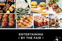 Catering by Society Fair / Society Fair loves to entertain, your job is to relax and be the amazing host.Our culinary acrobats ensure that you are the star performance.We Bring the Fair to You ~ from low key shindigs to high profile soirées.  Three Tiers of Service: 1. Home entertaining for pick-up or delivery 2. Delivery with buffet set-up service 3. Offsite culinary menus for larger events