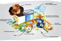 Kit dvd-cd-livres en anglais pour enfants 3-10 ans, allemand, espagnol, russe, chinois, français / Kit audiovisuel PetraLingua en anglais pour enfants, allemand, espagnol, russe, chinois, français : DVD, CD, livres, chansons, jeux, exercices interactifs, flashcards pour apprendre les langues étrangères aux enfants de 3 à 10 ans en s'amusant. Des cours de langues étrangères pour les enfants à la maison, à l'école maternelle et primaire.