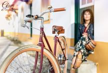 """Bicycle - Glam Alpha """"Woman"""" / Work made in Aveiro with Glam Alpha """"Woman"""" bicycle."""