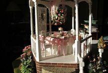 miniature gazebos / Dollhouse gazebos for inspiration