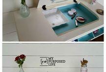 Reformando móveis antigos!!!