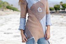 Omskapte klær  -redesign