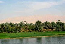 Down the Nile / The Nile river is beautiful, lined with lush greenery on either side, and makes for a relaxing boat trip as one meanders though antiquity...