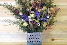 statice   and  all  dried  flowers