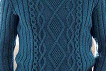 męskie-na drutach