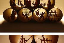 Diorama • Illusion / Mon passé vu par un trou comme dans les dioramas des foires.