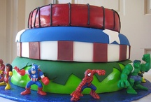 Super Hero Squad B'day Party