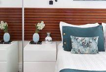 Quartos de Casal / Ideias e dicas para decoração e design de interiores de quarto de casal.