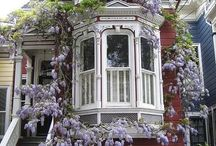 victorian homes / by Creative Stained Glass Designs