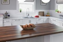 Island Ideas / Here are a few inspirations for kitchen islands.