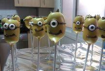 cake pops / Minions