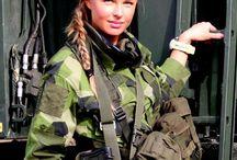 woman army