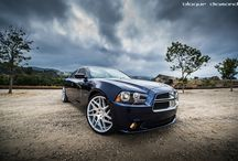2013 Dodge Charger Fitted With 22 Inch BD-3's in Silver