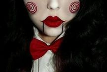 Creepy Halloween Make-up / I know what I'm going to wear next Halloween;)