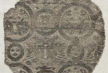 SCA- Extant painted fabric