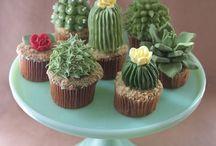 Garden Themed Cupcakes & Cakes