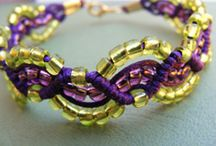 ♥♥JEWELLERY BEADING♥♥ / by Patricia St. T. Lees