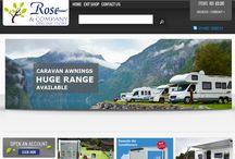 Rose & Company Online Store / Rose & Company Online Store for all caravan and motorhome accessories.