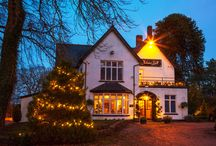 Christmas at Llechwen Hall / We love all things festive at Llechwen Hall - so here is our collection of festive ideas as well as photos of Christmas events we have had the pleasure to host