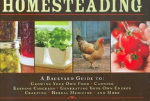 Homesteading, sustainable living / by Tammy Bloome