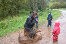 Puddles / We know how to have fun with a puddle! #loveoutdoorplay