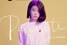 IU ( 아이유 ) Ft. G-Dragon – Palette Lyrics