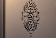 Tatuaż znaki wiedźmińske