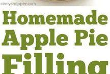Filling Apple Pie